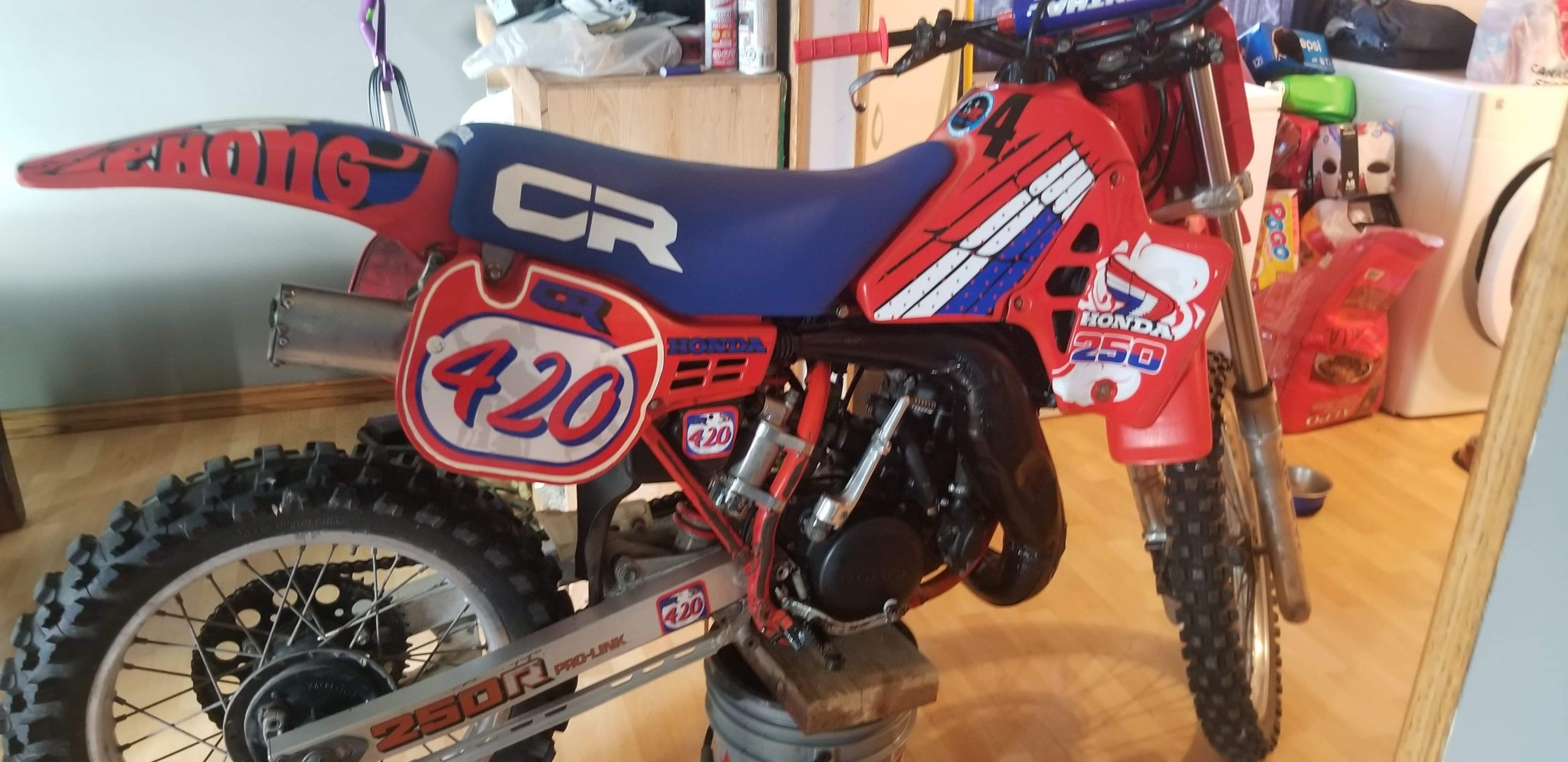decal kit 89 cr 250 r with