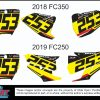 decal kit suzuki rm
