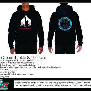 Squatch Hoodie from WOT in Black