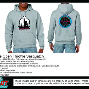 Squatch Hoodie from WOT in Grey