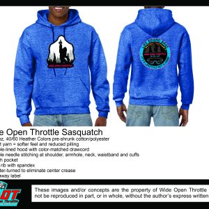Squatch Hoodie from WOT in Blue