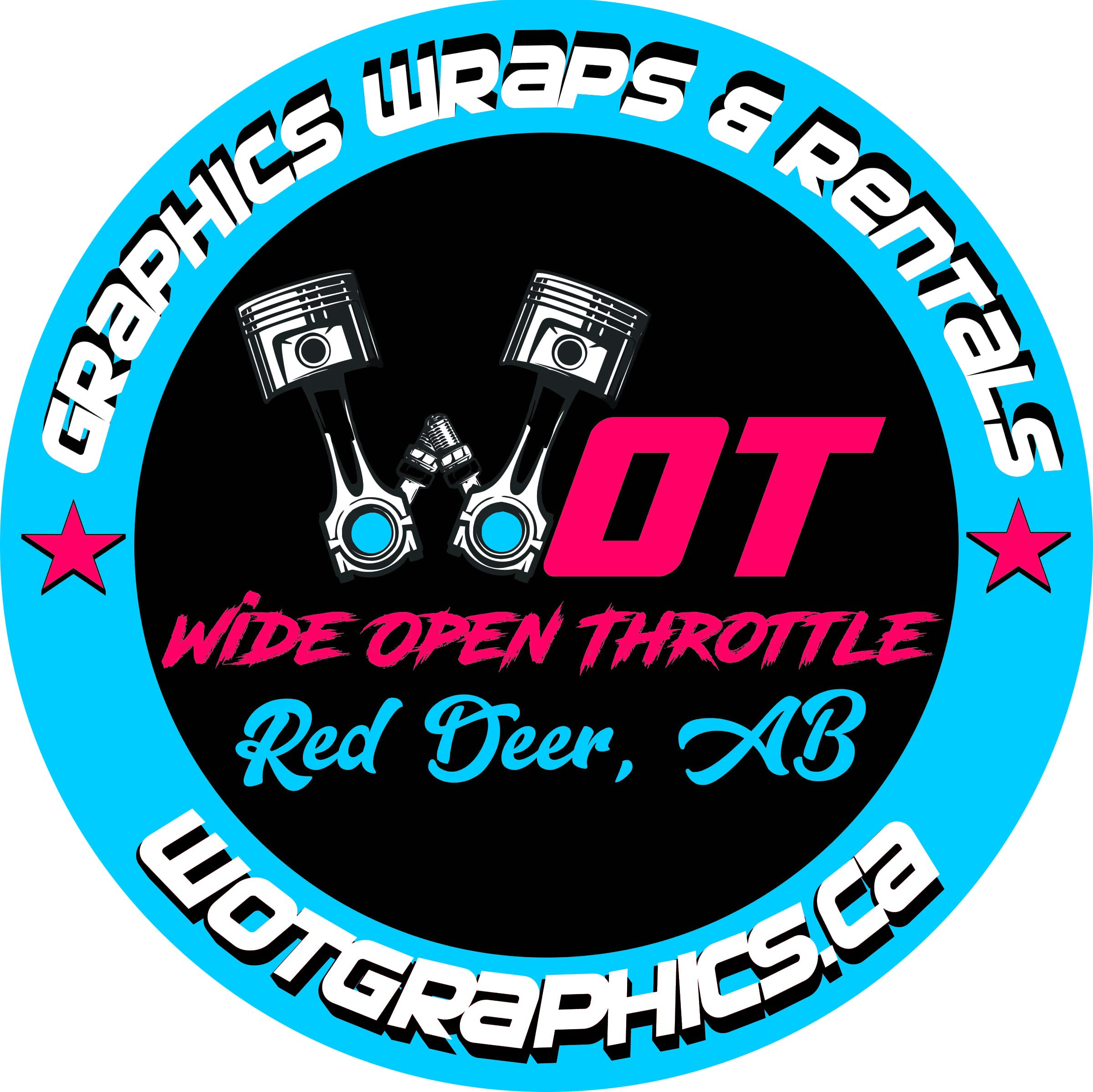 Wide Open Throttle Graphics
