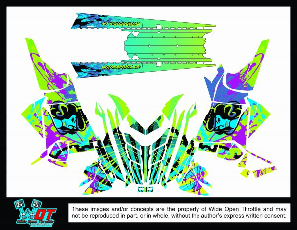 polaris sled wrap rmk 155