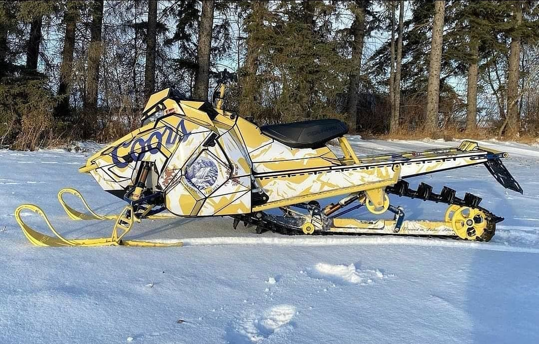 sled wraps coors