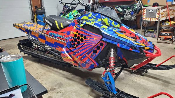 RMK sled wrap 163